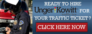 Unger & Kowitt for all Traffic tickets in Florida. Our preferred Law Firm.